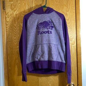 Roots Purple Hoodie